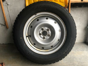 Yokohama Iceguard 225/60 R16 Snow Tires and rims