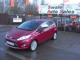 2008 FORD FIESTA TITANIUM 1.6TDCi ONLY 84,112 MILE,£20 TAX, FULL SERVICE HISTORY