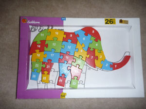 Wooden Chunky animal puzzles