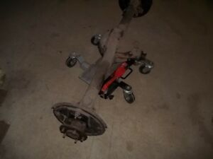 Pontiac 1937 &1938 rear axle assembly complete