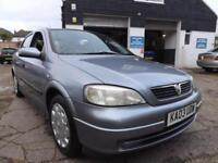 Vauxhall/Opel Astra 1.6i auto 2003 Club 82000 MILES S/HIST 8 STAMP LOTS OF BILLS