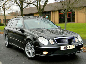 2004 04 Mercedes-Benz E Class 5.4 E55 AMG ** RARE ESTATE ONLY 48K MILES!! **