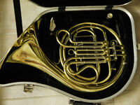 E.M. Winston Boston 101L Single French Horn