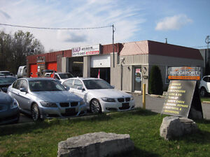 Commercial space available for lease, 2 bays and office
