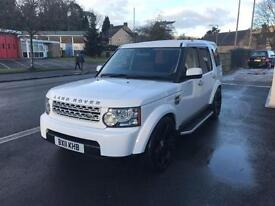 2011 11 LAND ROVER DISCOVERY 3.0 4 SDV6 GS 5D AUTO 245 BHP DIESEL