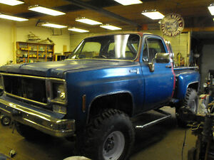 1978 GMC 4x4 short bed step side