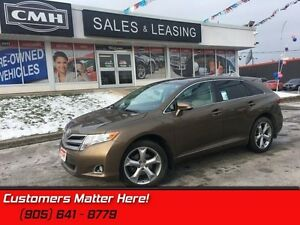 "2013 Toyota Venza Base   LEATHER  ROOF CAMERA POWER GATE  20"" WH"