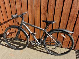 """Voodoo Marasa hybrid /gravel bike 18"""" frame"""