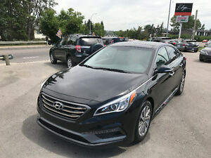 2015 Hyundai Sonata Sport **Leather, Pano Roof, B.CAM, LOADED**