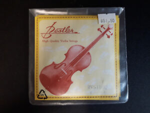 Violin Strings - for 1/2 size violin - New Bestler High Quality