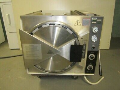 Pelton And Crane Mabel Magnaclave Autoclave Sterilizer With 2 Baskets Works
