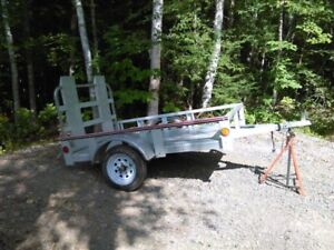 4 x 6  Stirling Galvanized Utility Trailer-