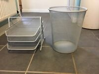 Filing Tray and Waste Bin