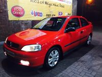 £400 VAUXHALL ASTRA MOTED AND TAXED ELECTRIC WINDOWS