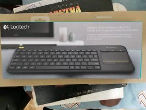 Logitech K400 Plus wireless keyboard/mouse