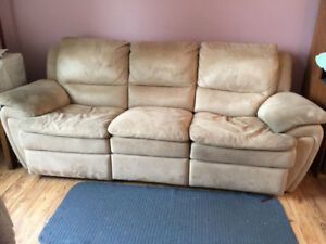 Loveseat and Couch