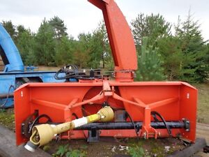 agrotrend snowblower 6ft inverted pulltype pull behind