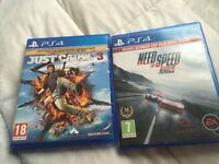 PlayStation 4 games Wanting to swap these games