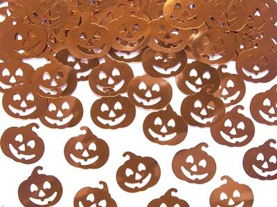 Orange Pumpkin Table Scatter Confetti for Halloween Party Halloween Decor Table  - Table Decorations For Halloween Party