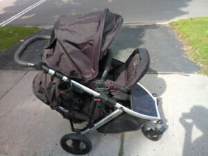 Britax B-Ready Double Baby Stroller and Car Seat Base