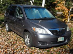 2004 Mazda MPV Fourgonnette, fourgon