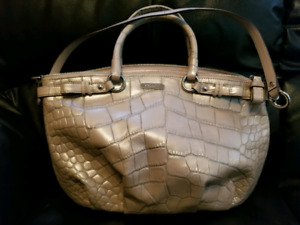 COACH Purse Embossed Leather