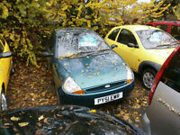 Ford Ka 1.3 2001MY Collection 71000 MILES P/X TO CLEAR DRIVES WELL.