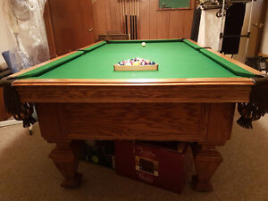 Olhausen earle pool table
