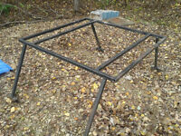 Ladder rack for a compact pick up truck $150.