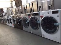 NEW EX-DISPLAY APPLIANCES WITH WARRANTY FROM £99:FRIDGES,COOKERS,WASHING MACHINES,DRYERS,DISHWASHERS