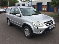 Honda CR-V 2.2 diesel, very clean 4x4, £2300.