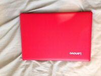 Lenovo Ideapad 100 S Intel® Atom™ Processor, 2Gb RAM, 32Gb SSD, 11.6 Inch Laptop - Red