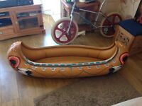 Kids inflatable canoe