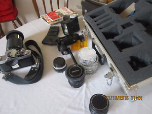 Konica Camera with cases