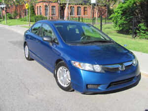 HONDA CIVIC 2011 DX-G 118000km/MANUAL/GREAT CONDITION