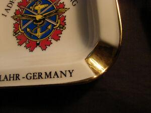 vintage Ceramic GOLD Trim Hugo Schmidt Germany Made Ashtray Belleville Belleville Area image 3