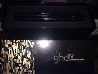 Ghd iv hair straighteners brand new