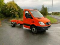 2012 Mercedes-Benz SPRINTER 513 CDI 5t twin wheel LWB chassis cab low miles Cha