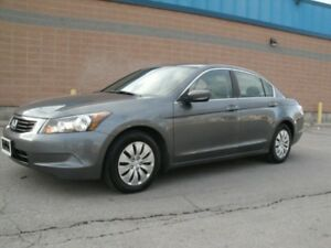 2010 HONDA ACCORD LX 4 DOOR AUTOMATIC GREAT COND