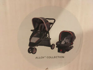 Poussette Graco Click Connect Sport Alloy Collection Stroller