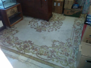 "12' x 8'-9"" Wool Area Rug For Sale"