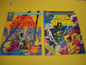 LOT OF 8 GERMAN COMICS SUPERMAN AND STAR WARS 1980'S London Ontario image 5