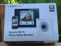 BABYPING wifi video baby monitor