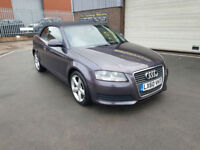 2010 60 AUDI A3 CABRIOLET 1.6TDI ( 104bhp ) TECHNIK , LEATHER SEATS, CONVERTIBLE