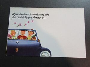 Ca 1950 MERCURY LINCOLN METEOR SERVICE MAILER FRENCH