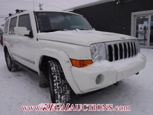 2010 JEEP COMMANDER LIMITED 4D UTILITY 4WD LIMITED