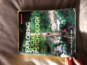 Exploring Social Psychology Textbook 4th Canadian Edition