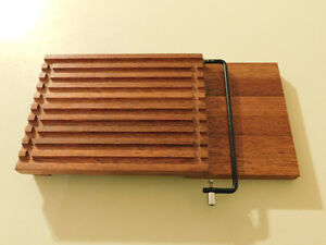 Danish Mid Century Modern Teak Cheese Cutting Board