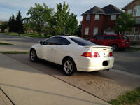 2002 Acura RSX fully loaded a/c blows cold ((gas saver))