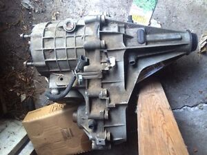 transmission and transfer case 4X4 08 Chevy